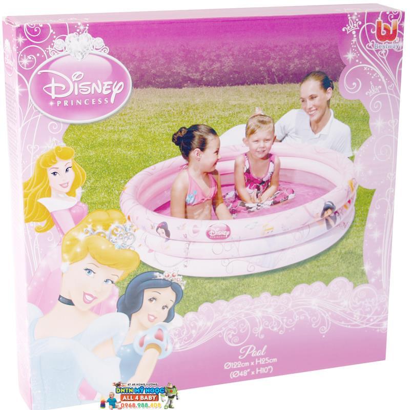Hồ phao Disney Princess - Bể bơi 3 tầng 91047B