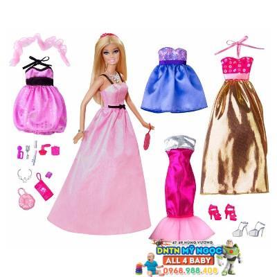Búp bê Barbie - Bộ sưu tập thời trang búp bê BCF75