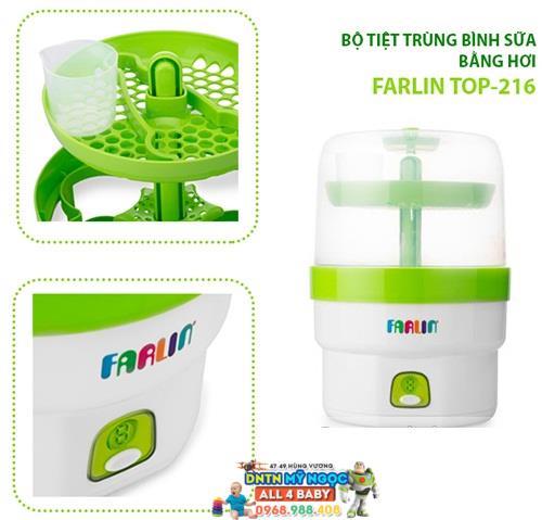 Máy tiệt trùng bình sữa Farlin Top-216