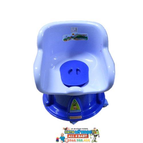 Bô trẻ em Nhựa Chợ Lớn tựa lưng có bánh xe