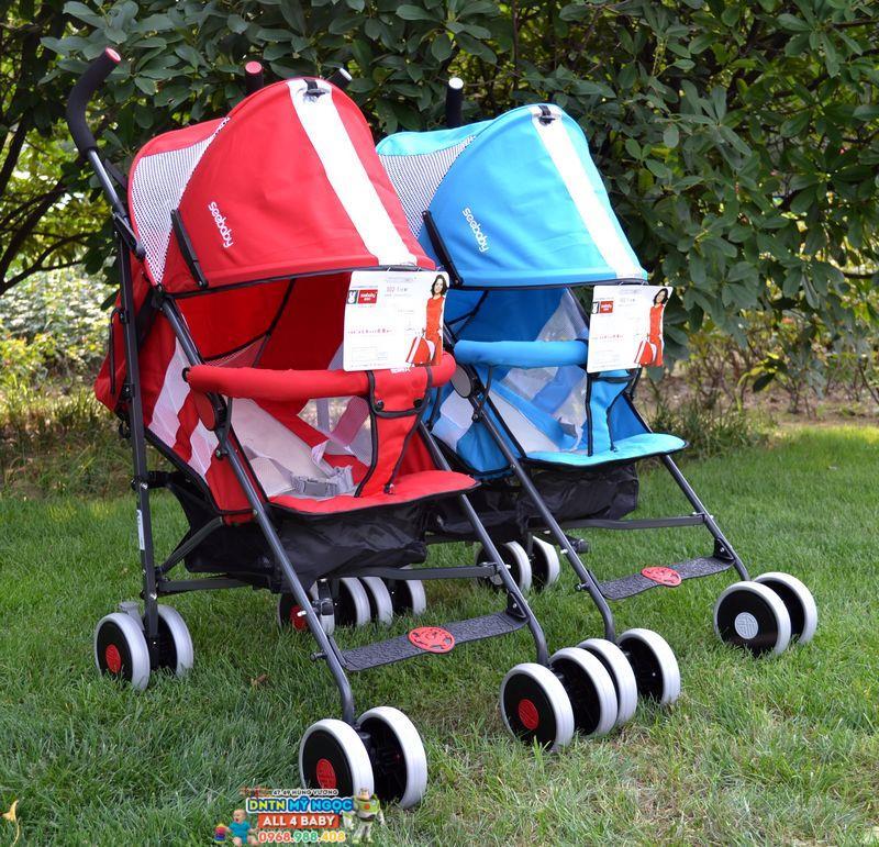 Xe đẩy Seebaby S02-1 siêu nhẹ