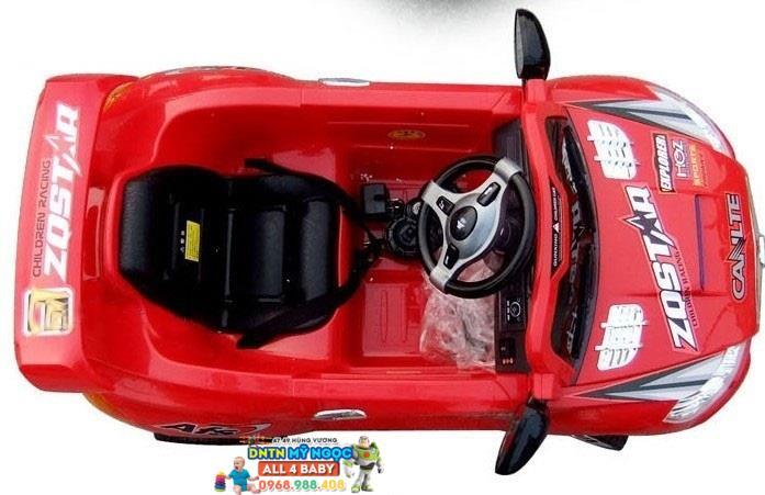 Xe ôtô điện trẻ em 7588 - Kiểu dáng xe mui trần