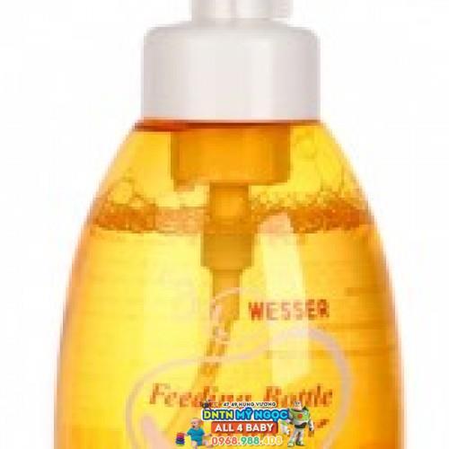 Nước rửa bình sữa Wesser 500ml