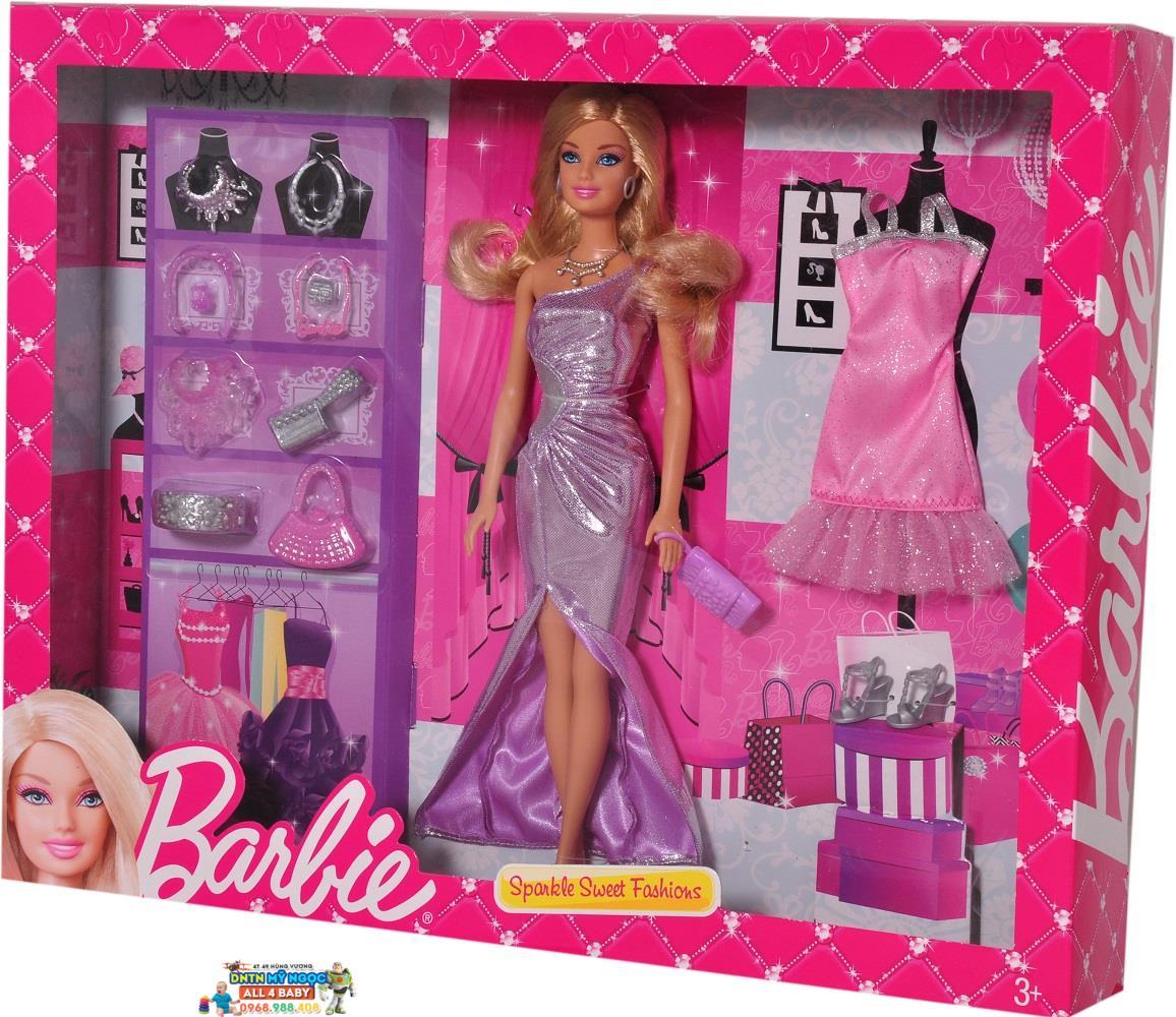 Búp bê Barbie - Ngọt ngào & duyên dáng BCF73