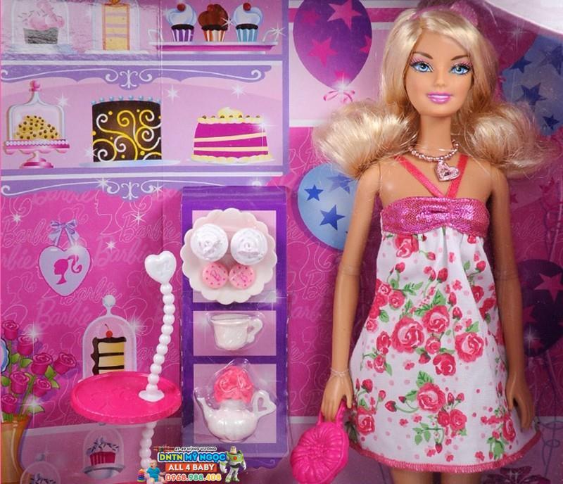Búp bê Barbie - Bữa tiệc trà BCF83