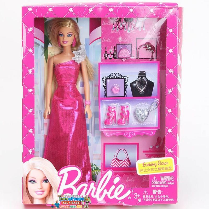 Búp bê Barbie - Cô nàng thời trang BCH58