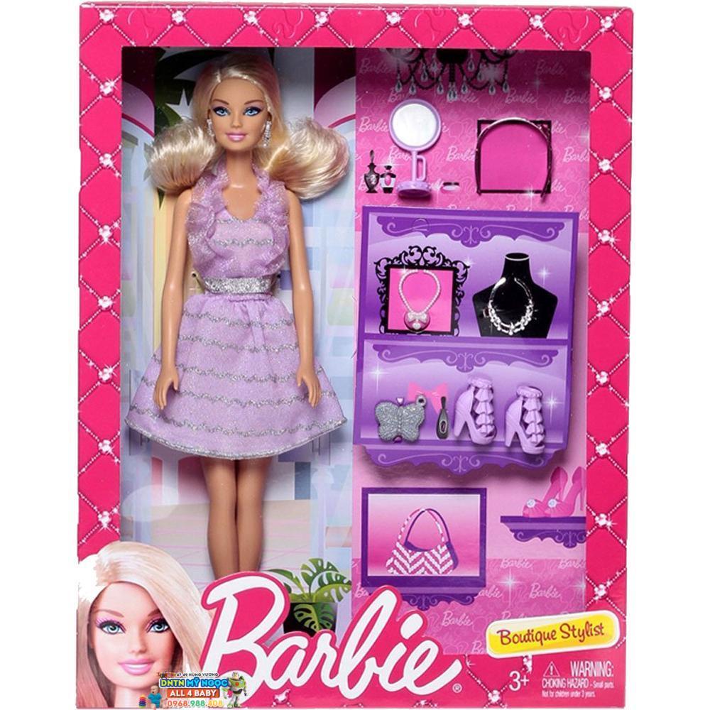 Búp bê Barbie - Cô nàng thời trang BCH56