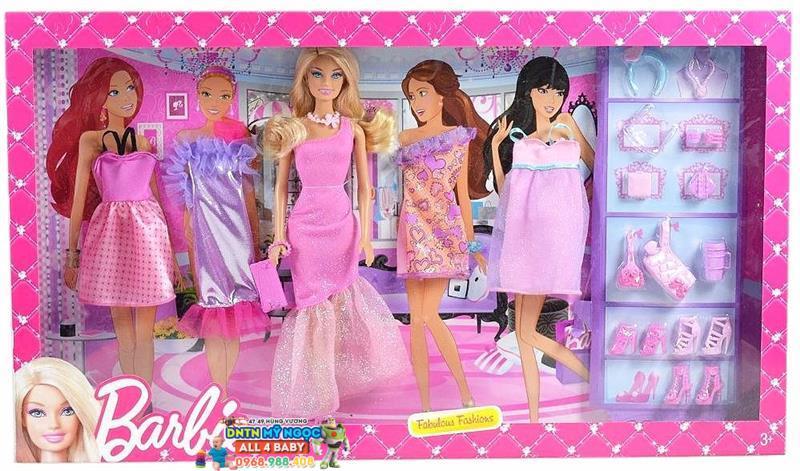 Búp bê Barbie - Bộ sưu tập thời trang BCF76