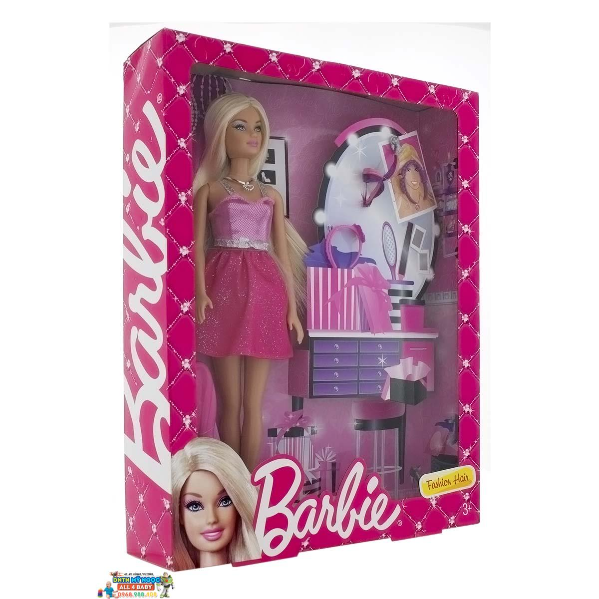 Búp bê Barbie - Thời trang tóc BCF84