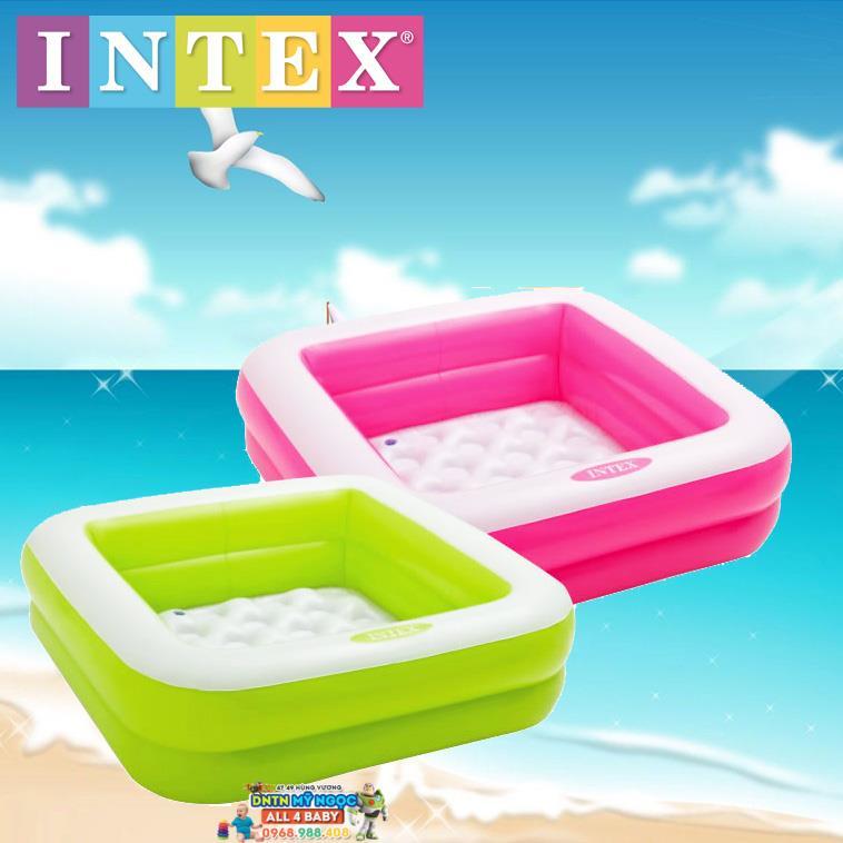 Hồ phao Intex hình vuông 57100