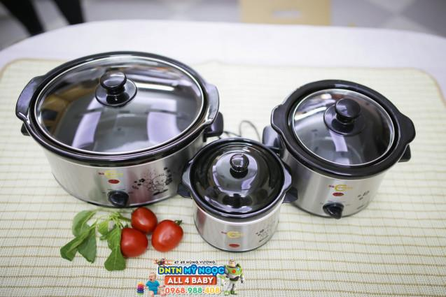 Nồi nấu chậm BBCooker Hàn Quốc 0.7 Lít
