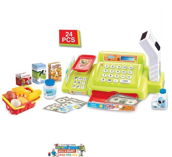 Đồ chơi máy tính tiền siêu thị 888A