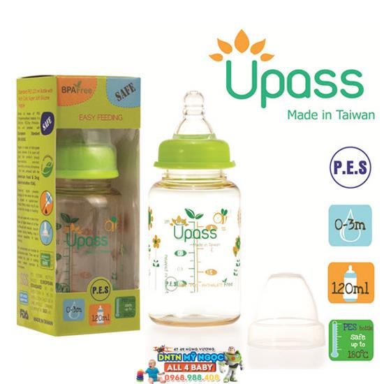 Bình sữa Upass 120ml UP02401CC/ CL