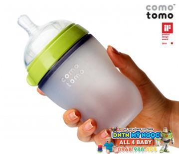 Bình sữa Comotomosiêu mềm 250ml