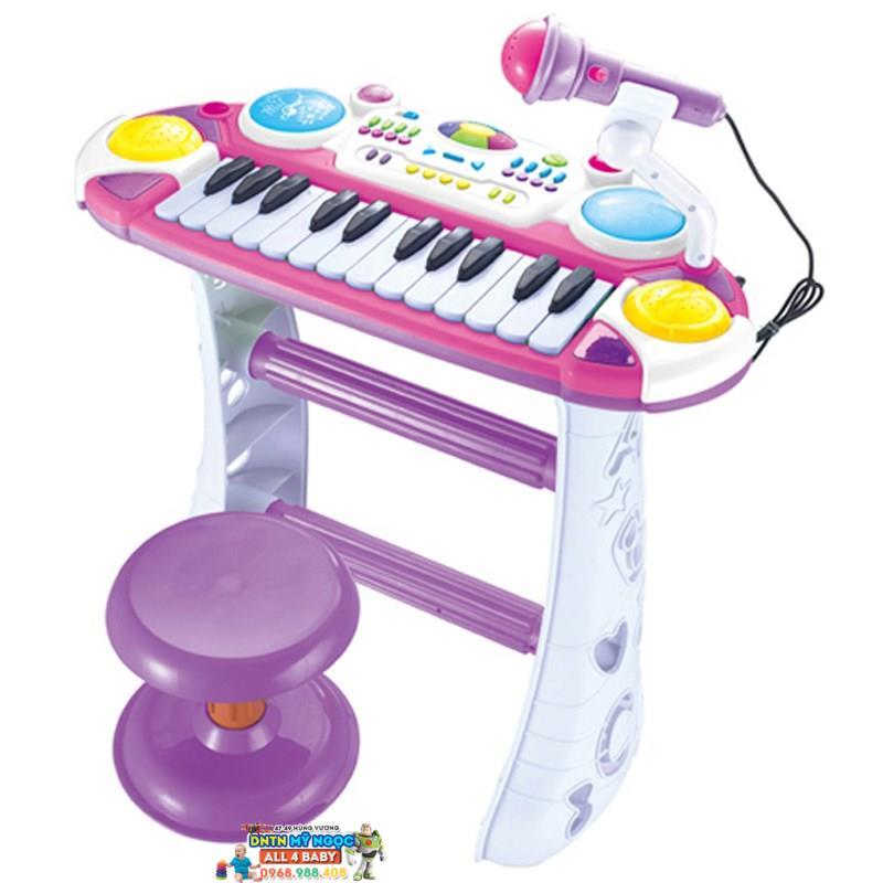 Bộ đàn âm nhạc organ có ghế ngồi BB335D