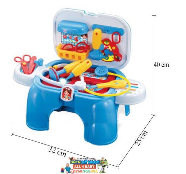 Bộ đồ chơi bác sĩ xách tay 008-91A