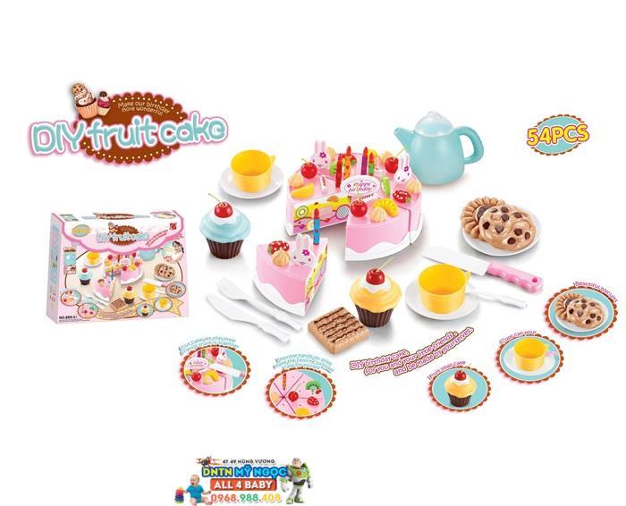 Bộ đồ chơi bánh sinh nhật 899-23