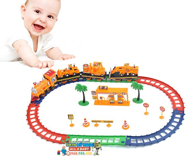 Tàu lửa chạy đường ray 17007C