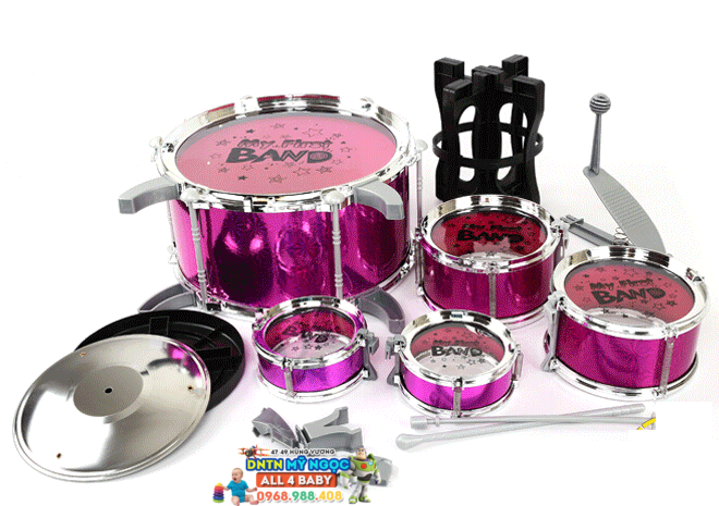Bộ 5 trống Jazz Drum 8008E