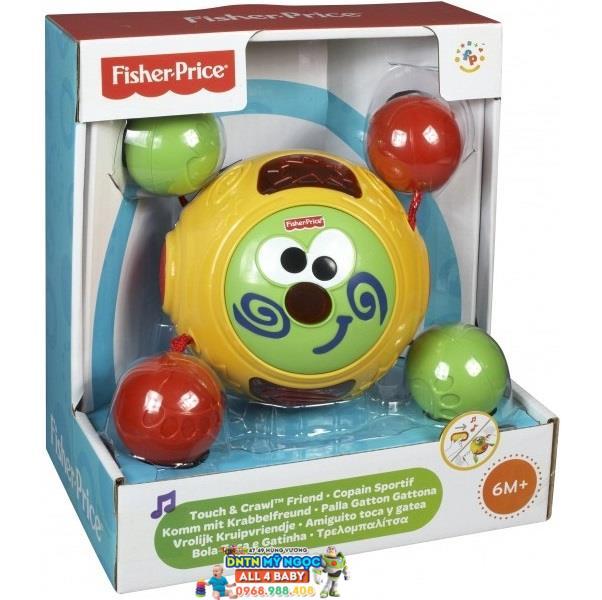 Đồ chơi bóng tập bò Fisher Price Touch & Crawl Friend C1414