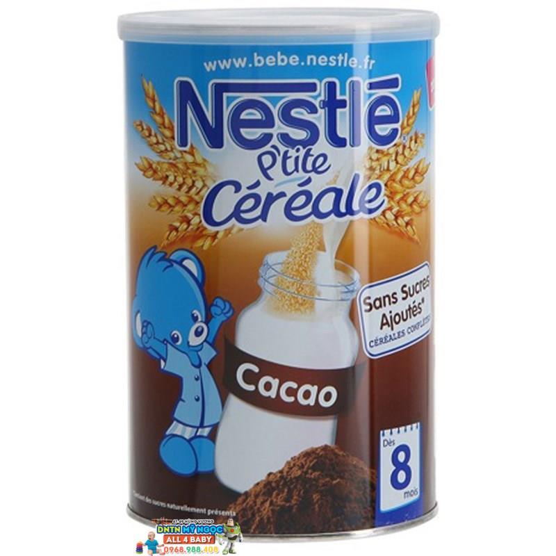 Bột ngũ cốc Nestle vị caramel (8 tháng trở lên, 400g)