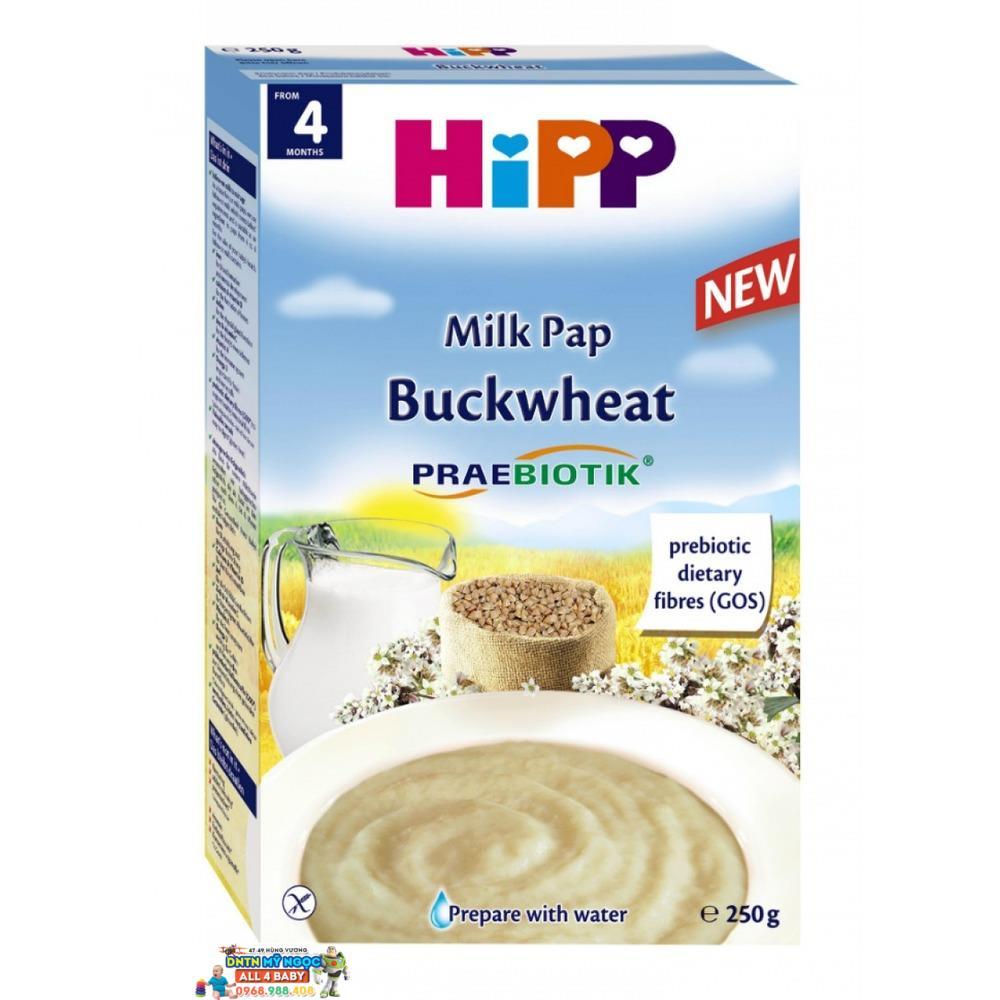 Bột dinh dưỡng Hipp sữa, kiều mạch 4M+ 250g