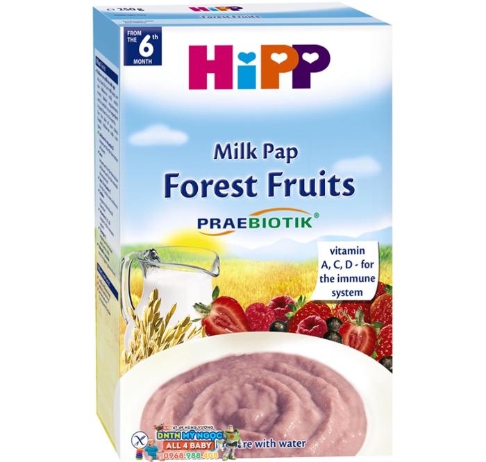 Bột dinh dưỡng Hipp hoa quả rừng 6M+ 250g