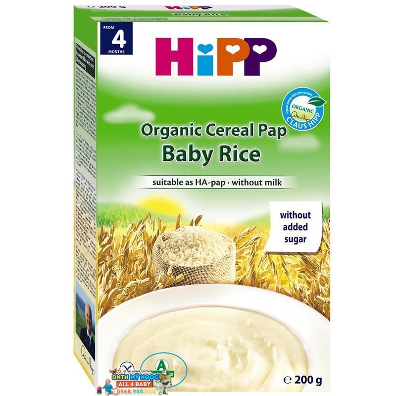 Bột dinh dưỡng Hipp bột gạo nhũ nhi 4M+ 200g