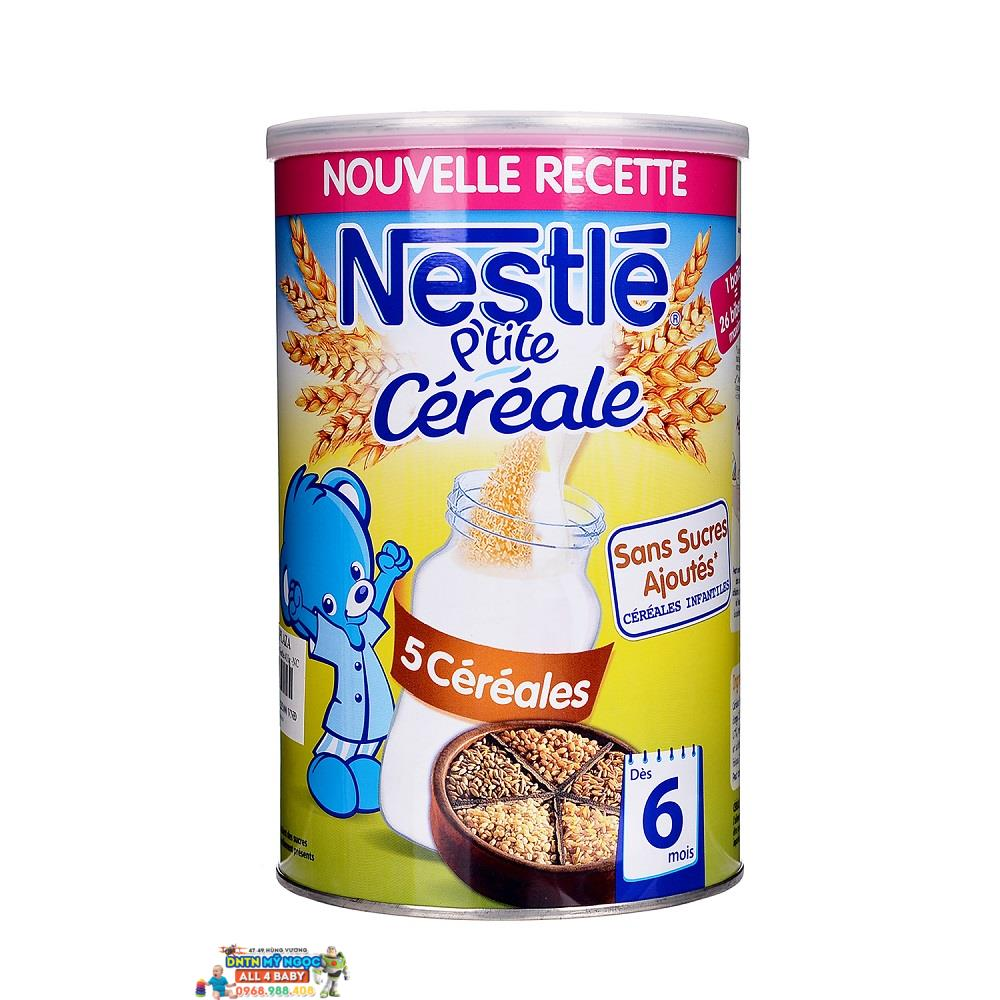 Bột ngũ cốc Nestle vị ngũ cốc tổng hợp (6 tháng trở lên, 400g)
