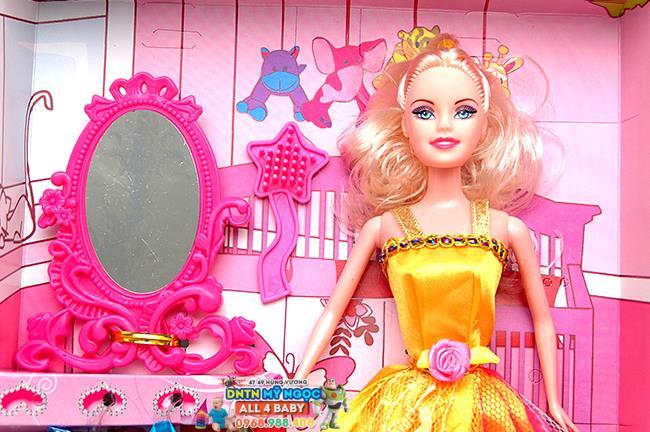 Đồ chơi búp bê phong cách Happy Beautiful girl