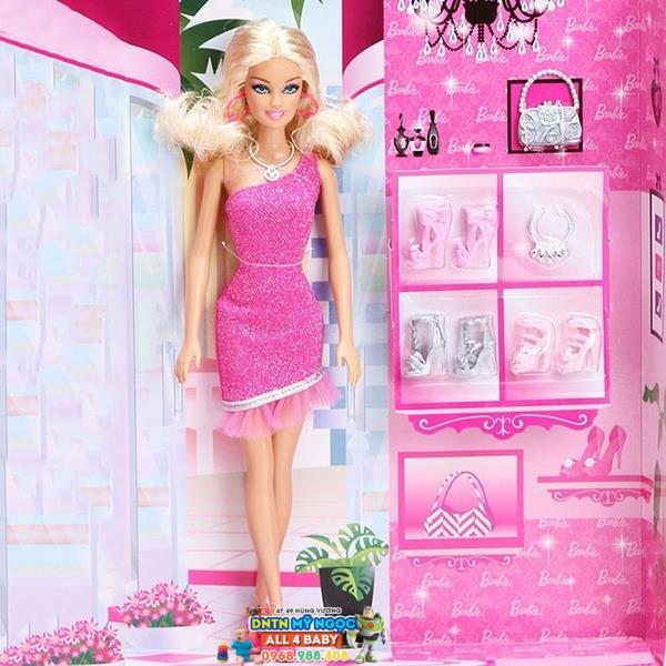 Búp bê Barbie - Siêu sao Thời trang BCH57