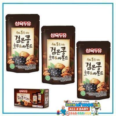 Sữa đậu đen hạnh nhân óc chó Hàn Quốc