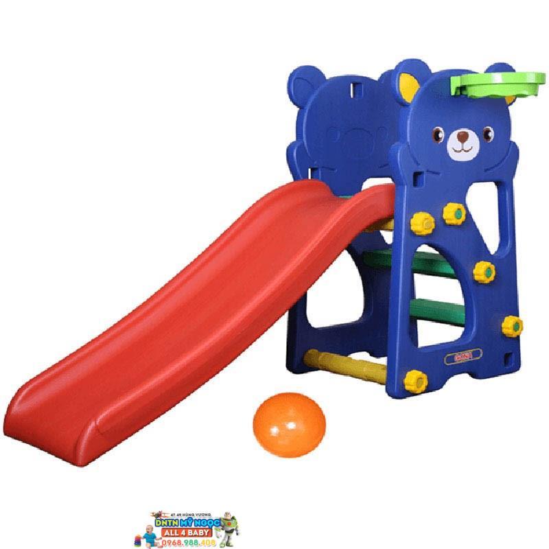 Cầu tuột gấu Teddy GT-803 cho bé