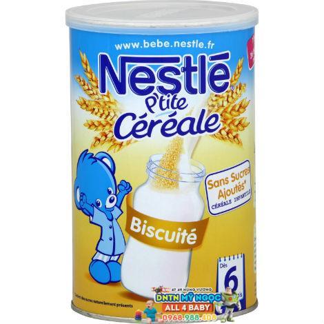 Bột ngũ cốc Nestle vị Vanille  (6 tháng trở lên, 400g)