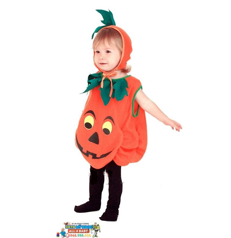 Trang phục Halloween hóa trang bí ngô