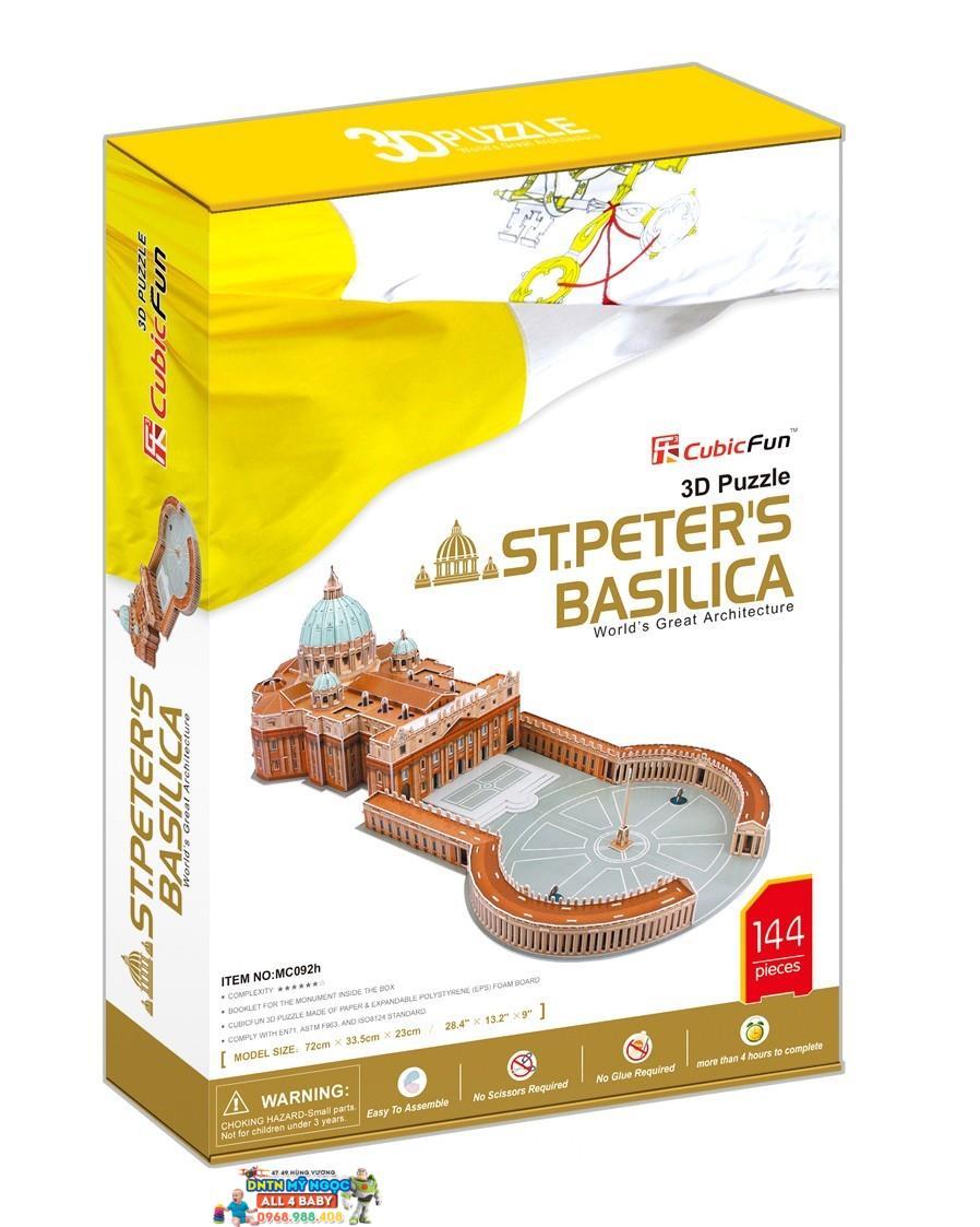Xếp hình 3D Tòa Thánh Vatican