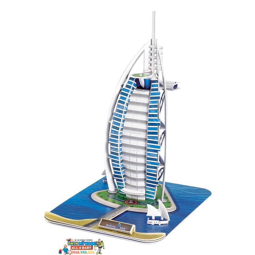 Xếp hình 3D Khách Sạn Burjal-Arab