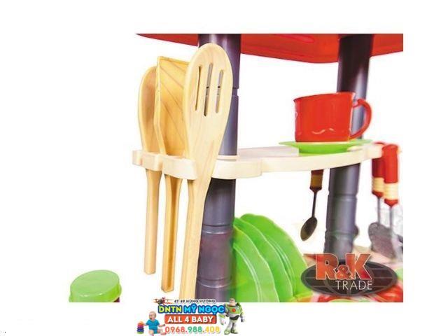 Đồ chơi nhà bếp lớn dùng pin Kitchen set WD - B15