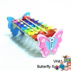 Đồ chơi gỗ Veesano - Đàn cây xylophone thú VH41D