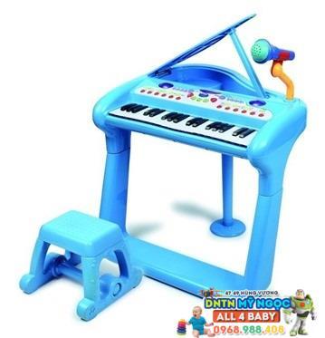 Bộ đàn âm nhạc piano có ghế ngồi BB375