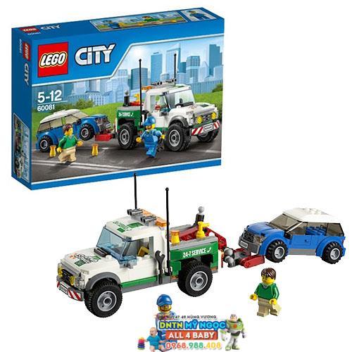 Hộp ráp Lego City 60081 - Xe bán tải cứu hộ (Đan Mạch)