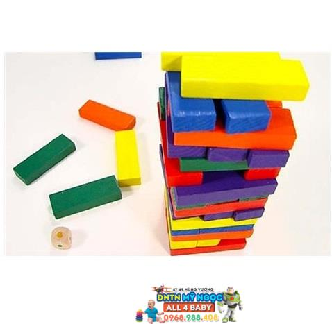 Đồ chơi gỗ Veesano - Bộ rút gỗ màu sắc VH50