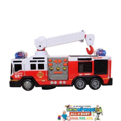 Đồ chơi xe cứu hỏa chạy pin SD-017/016