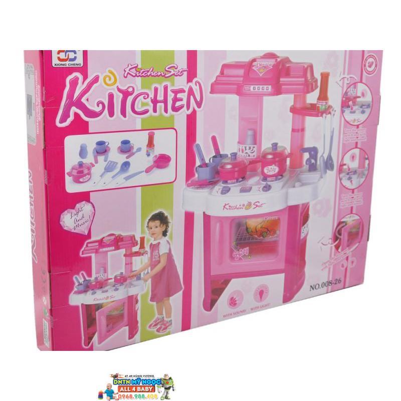 Đồ chơi nhà bếp lớn dùng pin BBT Global 008-26