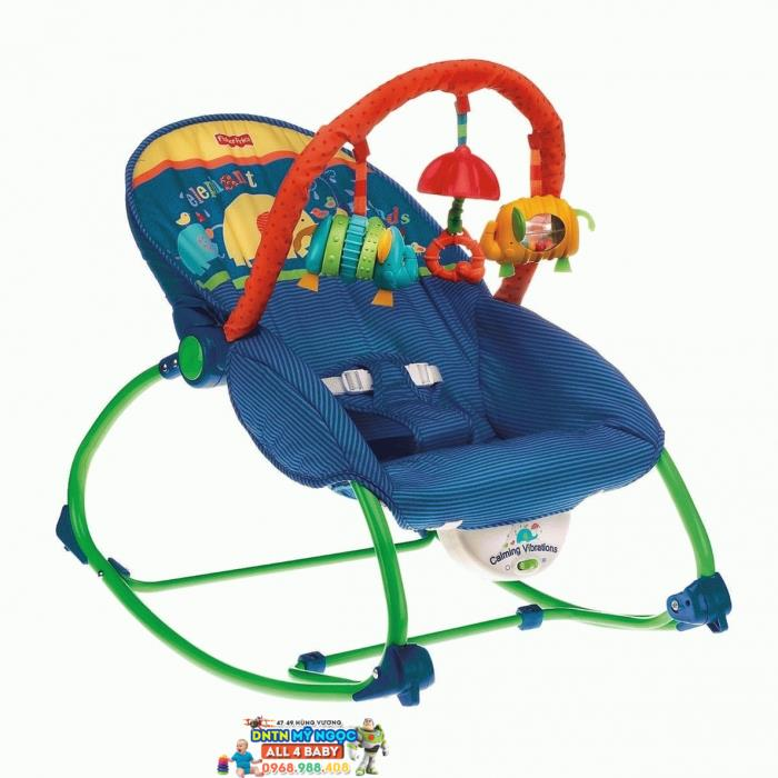 Ghế rung Fisher Price M5598 màu xanh