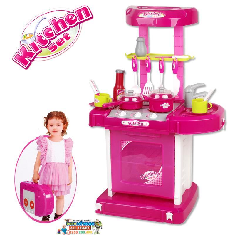 Đồ chơi nhà bếp lớn dùng pin Kitchen set 008-58