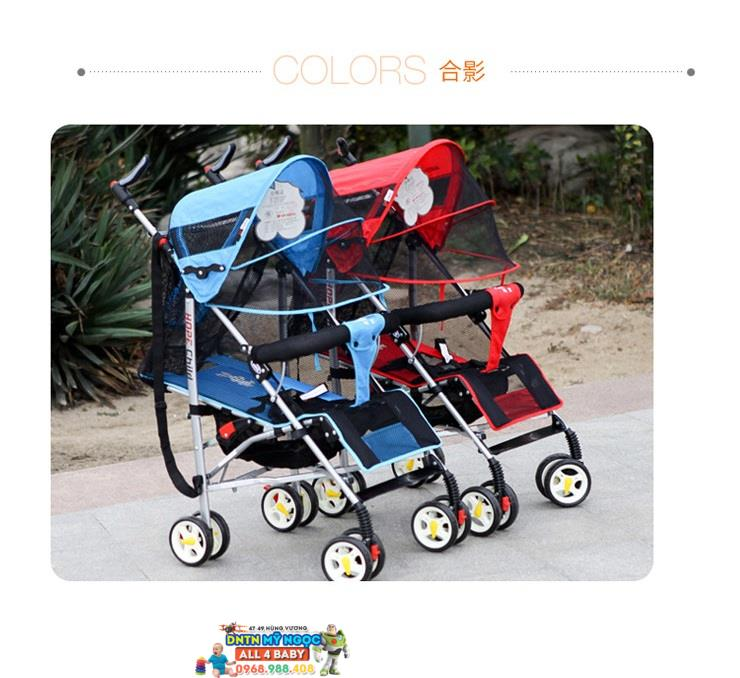 Xe đẩy du lịch Hope baby HP- 308