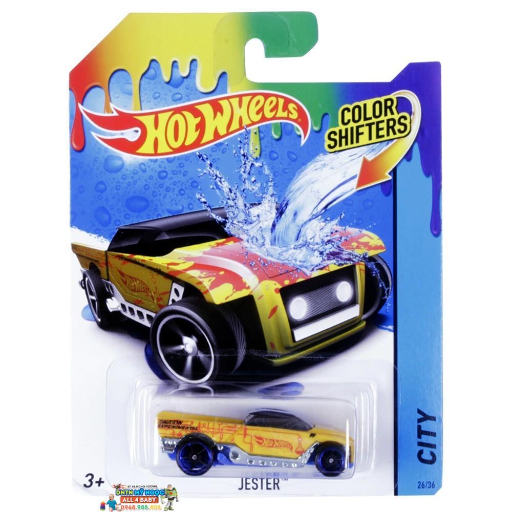 Xe đồ chơi đổi màu Hot Wheels BHR15