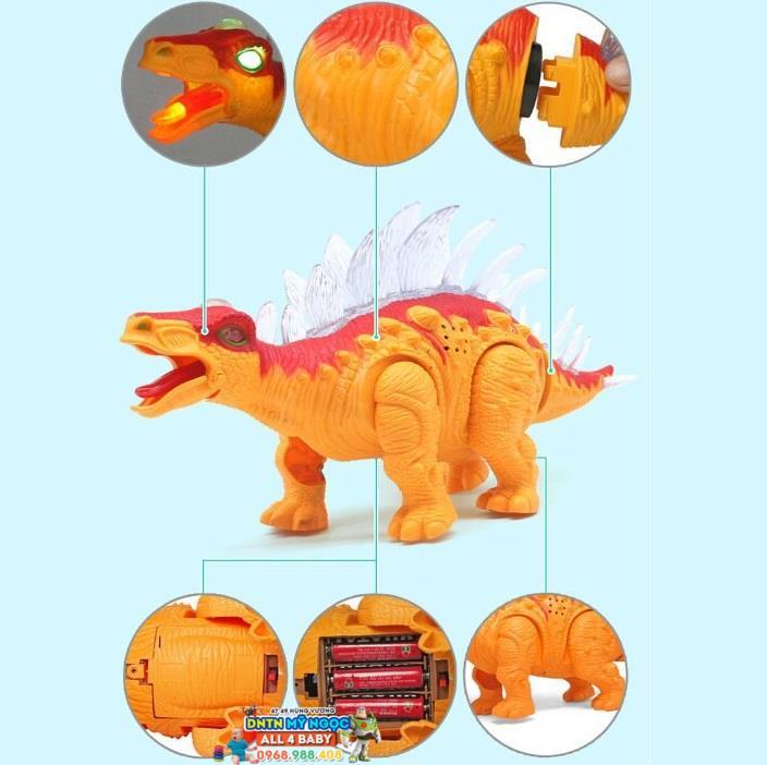 Đồ chơi khủng long ăn cỏ có vảy 6638