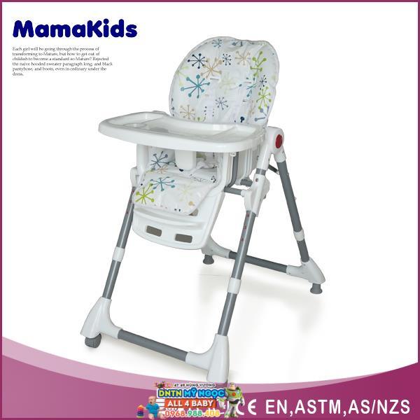 Ghế nhựa ăn bột điều chỉnh độ cao Mamakids HC-56